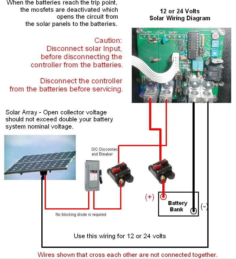 Coleman Air C65m 65a 1224v Windsolar Solid State M Charge Rhcolemanairus: Charge Controller Wiring Diagram At Gmaili.net